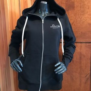 Prodigy Apparel black zip up hoodie